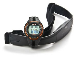 Timex Ironman Road Trainer Heart Rate Monitor Watch