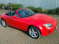 2006 Mazda MX5 2.0 158bhp Roadster, 60,000rm, *A/C, Htd Leather seats* Excellent Condition, New Mot