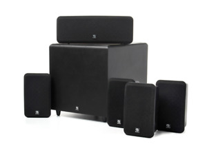 Boston Acoustics 5.1 Home Theater Speakers and Powered Subwoofer