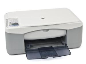 HP Deskjet F340 All-In-One Printer. Scanner. Copier.