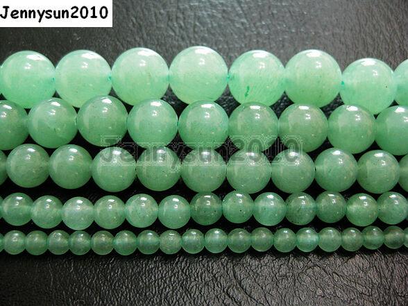 Natural Aventurine Gemstone Round Beads 15.5