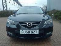 2008 Mazda3 Sport Saloon 2.0i 6 Speed 97k New Mot, Excellent Condition. High Spec.