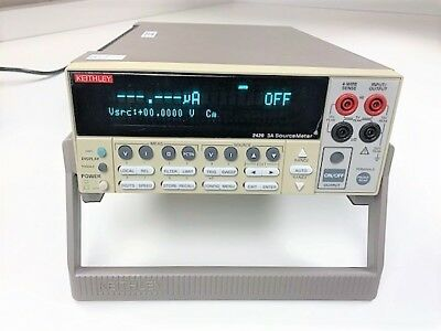 Keithley 2420 Sourcemeter 60v 3a 60w Calibrated