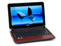 Acer Aspire One Netbook (Red)