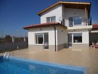 New luxury villa to rent in Bulgaria; with 3 international golf courses nearby & lovely beaches