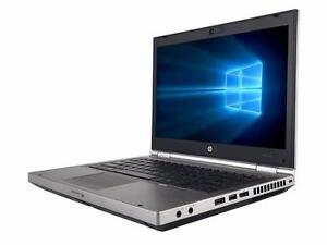 "HP EliteBook 8470p 14"" Intel Core i5-3320M 2.60 GHz 4GB RAM 500GB HDD  Laptop with store warranty"