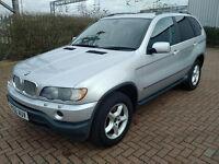 BMW X5 4.4 V8 Automatic, 2002, Fsh, Long Mot, 93800miles