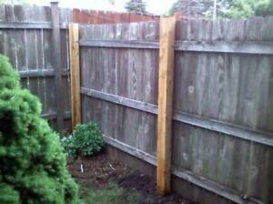 Cheap Fence Posts, Fence Repairs, Deck repairs, Junk Removal