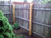 Niagara's Cheapest Fence and Post Repairs and More !