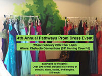 Pathways Prom Dress Event!