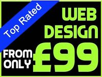 Create you an amazing website for as little as £99 | Designer | Graphic | Web
