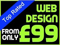 Website Design for as little as £99 | Designer | Graphic | Web | Videos