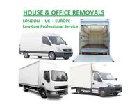 Cheap Removals Service Man and Van Hire London House Moving Van Office