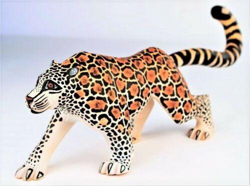Oaxacan Wood Carving Eleazar Morales Jaguar Oaxaca Mexican Folk Art Alebrije