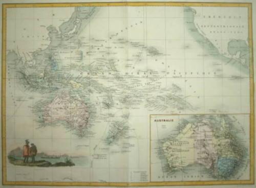 PACIFIC OCEANIE MIGEON CIRCA 1870..