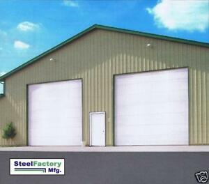 Steel building ebay for 50x100 garage