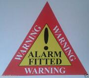 Alarm Warning Sign