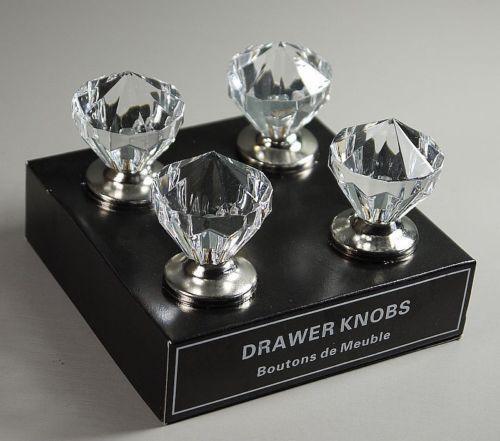 Crystal Cupboard Knobs Door Handles Ebay