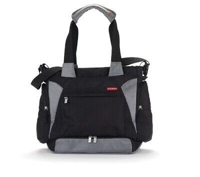 Skip Hop Bento Meal-to-Go Diaper Bag, Black- Brand New
