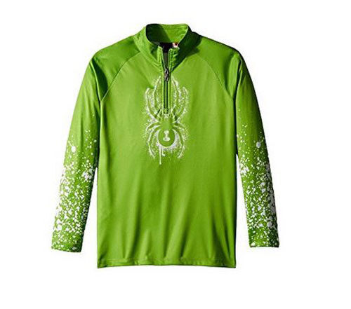 Spyder Kids Limitless T-Neck Top Mid-Layer Top Thermal Shirt Size XL(18 Boys)NWT