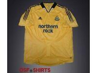 NEWCASTLE UNITED 3rd 2004-2005 (M) FOOTBALL SHIRT