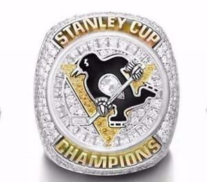 NHL 2016 PITTSBURGH PENGUIN CHAMPION RING