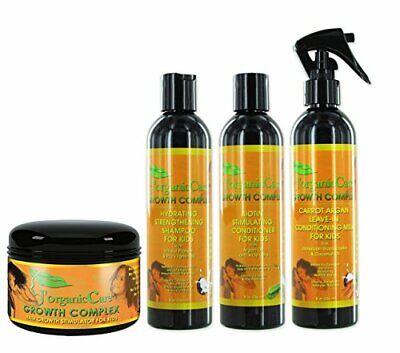 J'Organic Solutions Kids Healthy Hair Kit w/ Shampoo Conditi