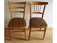2 Brand New wooden chairs