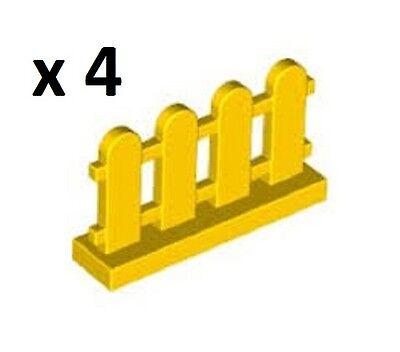 LEGO Yellow Picket Fence City Friends Cargo Police Disney Creator Angry Birds