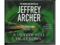 Jeffrey Archer - Quiver Full Of Arrows - CD - Audiobook as new