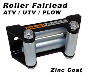 ON-SALE-New-Runva-ATV-UTV-Electric-Winch-Roller-Fairlead-4-7-8-Mount-Pattern