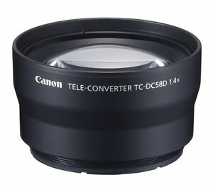 CANON G12 Tele Converter TC-DC58D - Wanted