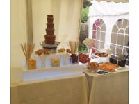Chocolate Fountain/Candy Cart/Chair Covers & Table Linen Hire/Dessert Tables in Kent