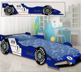 Single F1 Racing Car Bed Frame