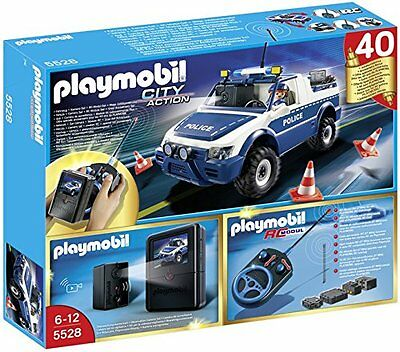Playmobil 5528 RC Police Car with Camera Playset
