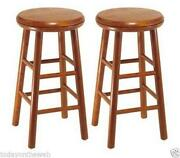 Wood Bar Stools 24