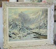 Winter Oil Painting