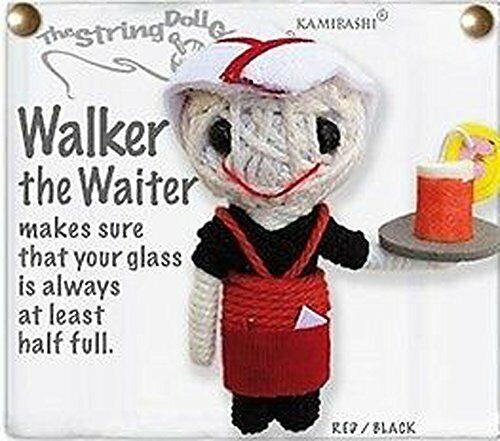 Kamibashi Walker the Waiter Original String Doll Gang Keychain Toy