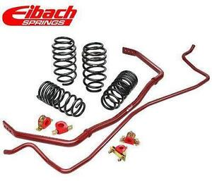 Eibach lowering springs coilovers sway bars prokit sportline