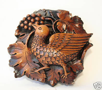 Bird Medieval Cathedral Carving Unique English Ornament