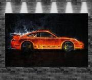 Porsche Leinwand