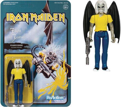 Iron Maiden - Iron Maiden ReAction Figure - Flight of Icarus (Single Art) [New T