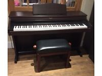 Roland HP-3E Digital Piano in rosewood, Full Size 88 weighted keys, 3 pedals