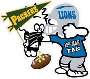 Detroit Lions Stickers