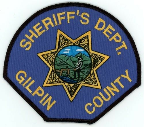 GILPIN COUNTY SHERIFF COLORADO CO COLORFUL PATCH POLICE