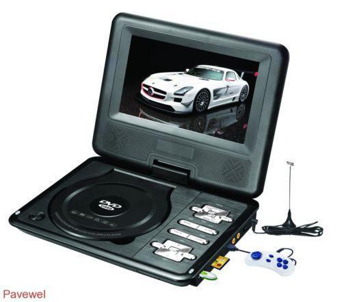 """RCA 7"""" Portable DVD Player"""
