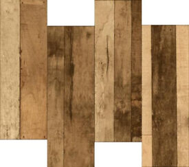 Wood tiles - Rustic Wood effect, £10/m2