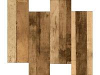 Wood tiles - Rustic Wood effect, £10/m2