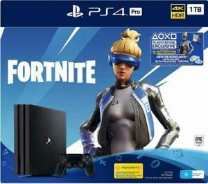 PS4 Pro 1TB Fortnite Edition 4K HDR Brand New Sealed