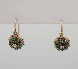 Vintage Leverback Earrings